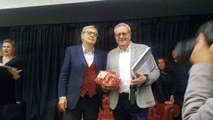 Maurizio Calciolari e Vittorio Sgarbi