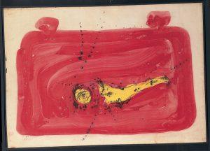 Lucio Fontana, Concetto Spaziale, 1954