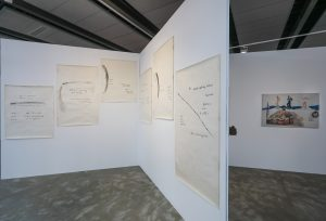 Philip Corner nell'allestimento di Caterina Gualco