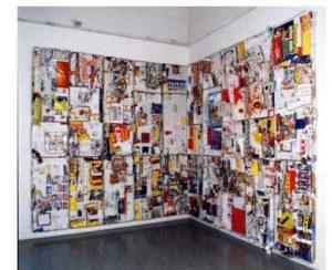 Raffaella Formenti, installazione alla Galleria Peccolo, ora riproposta e adeguata al Comodo64 per S.P.A.M.
