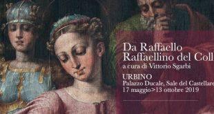 """""""Da Raffaello. Raffaellino del Colle"""", ad Urbino."""