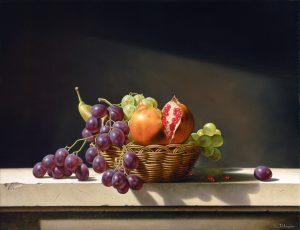 Michele D'Avenia, E tutto viene in luce, prima o poi..._ oil on canvas cm 50 x 65