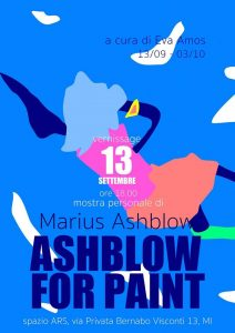 Ashblow for Paint, a cura di Eva Amos