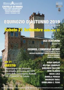 Equinozio, Castello di Rivara