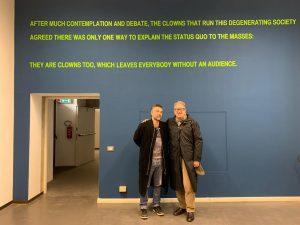Gianluigi Ricuperati e Valerio Magrelli per Literary Social Content Creator