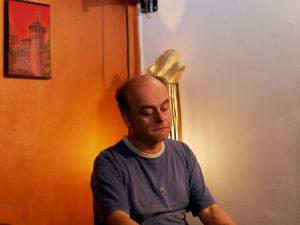 Andrea Cavallo. Pianista e Curatore di VersiDiversi. ph. Emanuele Pensavalle