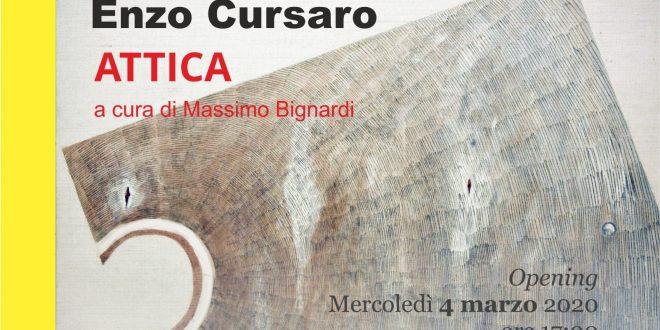 ENZO CURSARO, ATTICA
