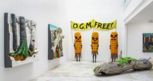 La Natura di Piero Gilardi in una grande personale a Parigi da Michel Rein; ne parliamo con l'artista