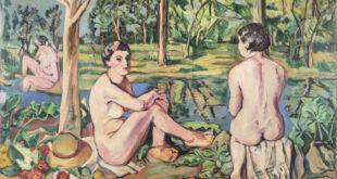 Gli artisti e le opere: Albino Galvano, Le Bagnanti, 1932