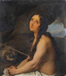 Francesco Hayez - Maddalena penitente