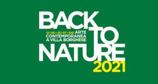 Back to Nature 2021, Arte Contemporanea a Villa Borghese